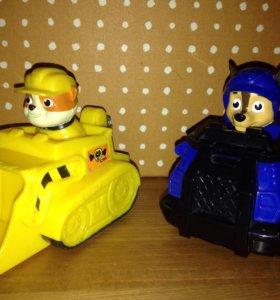 Щенячий патруль на транспорте