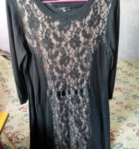Теплое платье Oodji, 48-50