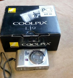 Фотоаппарат Nikon coolpix L19