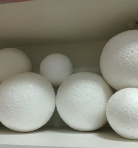Пенопластовый шар для топиариев