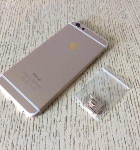 Корпус для iPhone 6 золотой (новый)