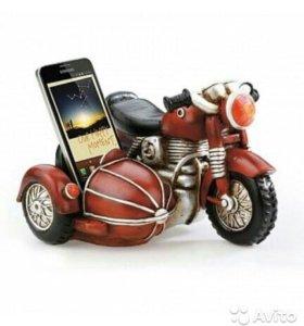"""Подставка для мобильного телефона """"Мотоцикл"""""""