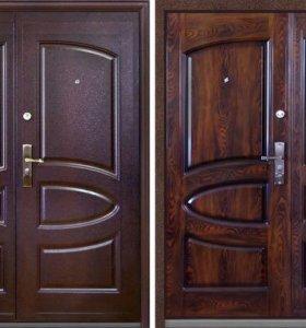 Металические двери . решётки....