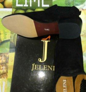 Ботильоны Jeleni замшевые 41 размер
