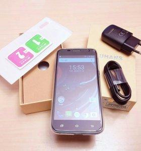 Новый телефон uhans A101 +стекло и силикон