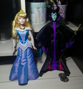Куклы Аврора и Малифесента.