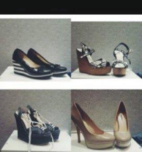 Продам обувь. Босоножки, туфли на каблуке и на тан