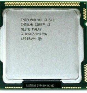 Intel Core i3-540, socket 1156