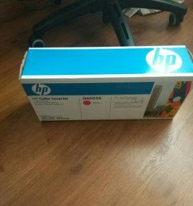 картридж HP  Q6003A новый