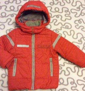 Куртки на 2-4 и 4-5 лет