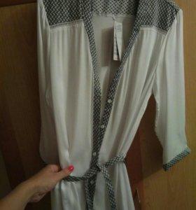 👑М(44-46). Новая удлиненная блуза