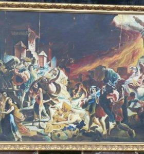 Картина Последий день Помпеи