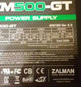 ZALMAN 500W / 80 pluse