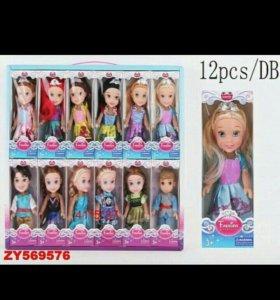 Кукла классич.в ассорт., кор. 969A Цена: 120