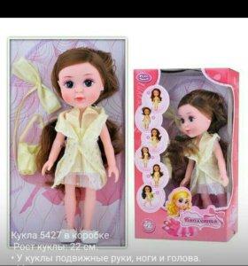 Кукла 5427 в коробке Рост куклы: 22 см. • У кукл