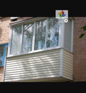 Окна, двери, балконы, потолки