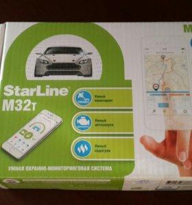 Сигнализация Starline M32 can t
