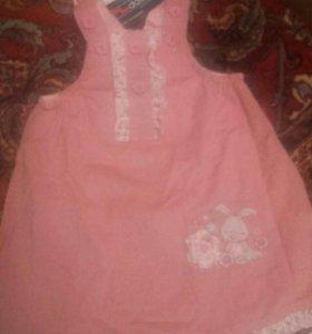 Платья 9-12 месяцев