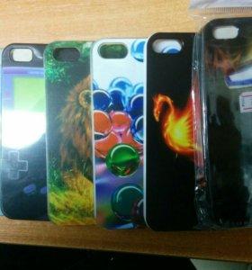 Пластиковые накладки для iPhone 4,5