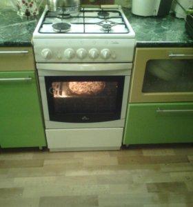 Газовая плита с эл.поджигом
