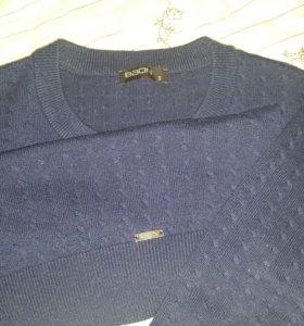 Мужской поуловер,кофта