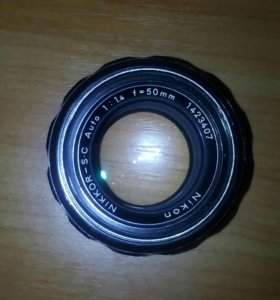 Nikon nikkor-S c auto 1:1,4 F50 mm