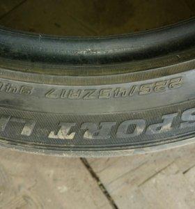 Шины Dunlop 225*45 R17