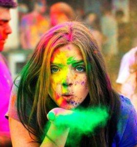 Краски холи для фестиваля