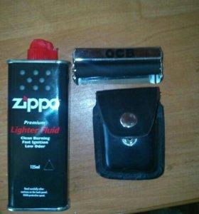 Бензин для zippo чехол для zippo, и станок для зак