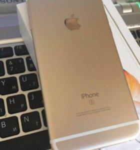 iPhone 6S Plus gold 64 gb.