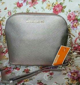 Michael Kors platinum сумка