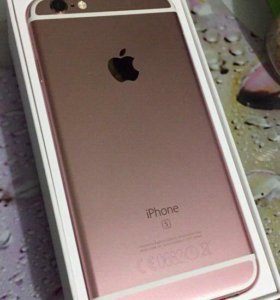 iPhone 6s Pink gold 16 gb