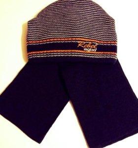 Шапка + шарф (комплект).