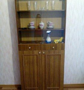 Книжный шкаф/минибуфет