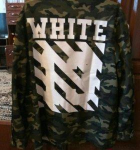 OFF-white камуфляжная рубашка (XXL - 48-52)