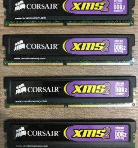 Оперативная память Corsair CM2x1024-6400G