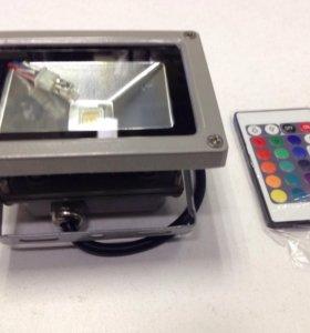 Прожектор RGB 10W