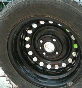 Комплект из 4 колес для ниссан tiida