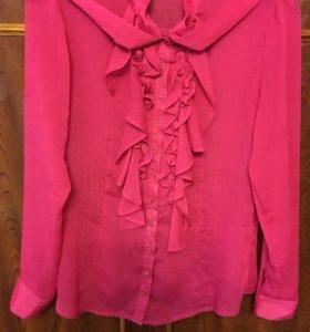Блузка новая розовая GoLub длинный рукав