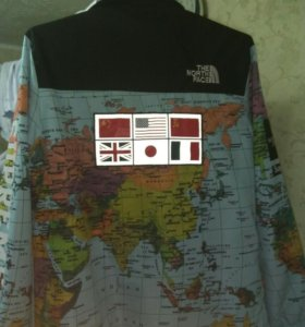 The North Face x Supreme Map Jacket (XXL 48-52)