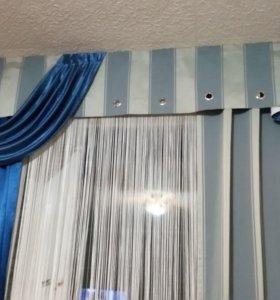 Шикарные шторы из дорогих тканей