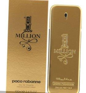 Парфюмерная вода PACO RABANNE 1 MILLION 100ml