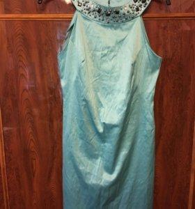 Платье голубое новое Love Republic