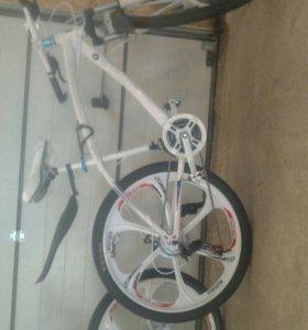 Велосипеды бмв и мерседес на литье