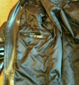Куртка  кожаная демисезонная48размер