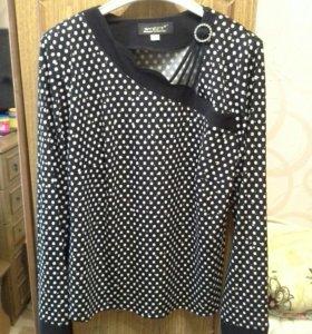 Нарядная блуза р.48