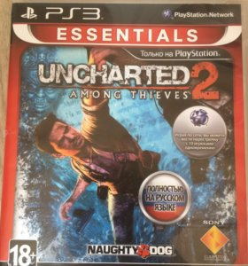 Диск для PS3 Uncharted 2