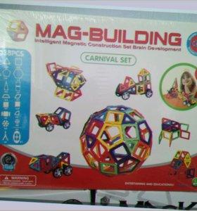 Большой Магнитный конструктор Маг Билдинг на 138