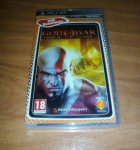 "Игра для PSP ""God of War: Chains of Olympus"""