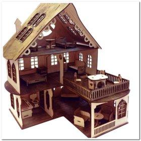 Волшебный кукольный домик